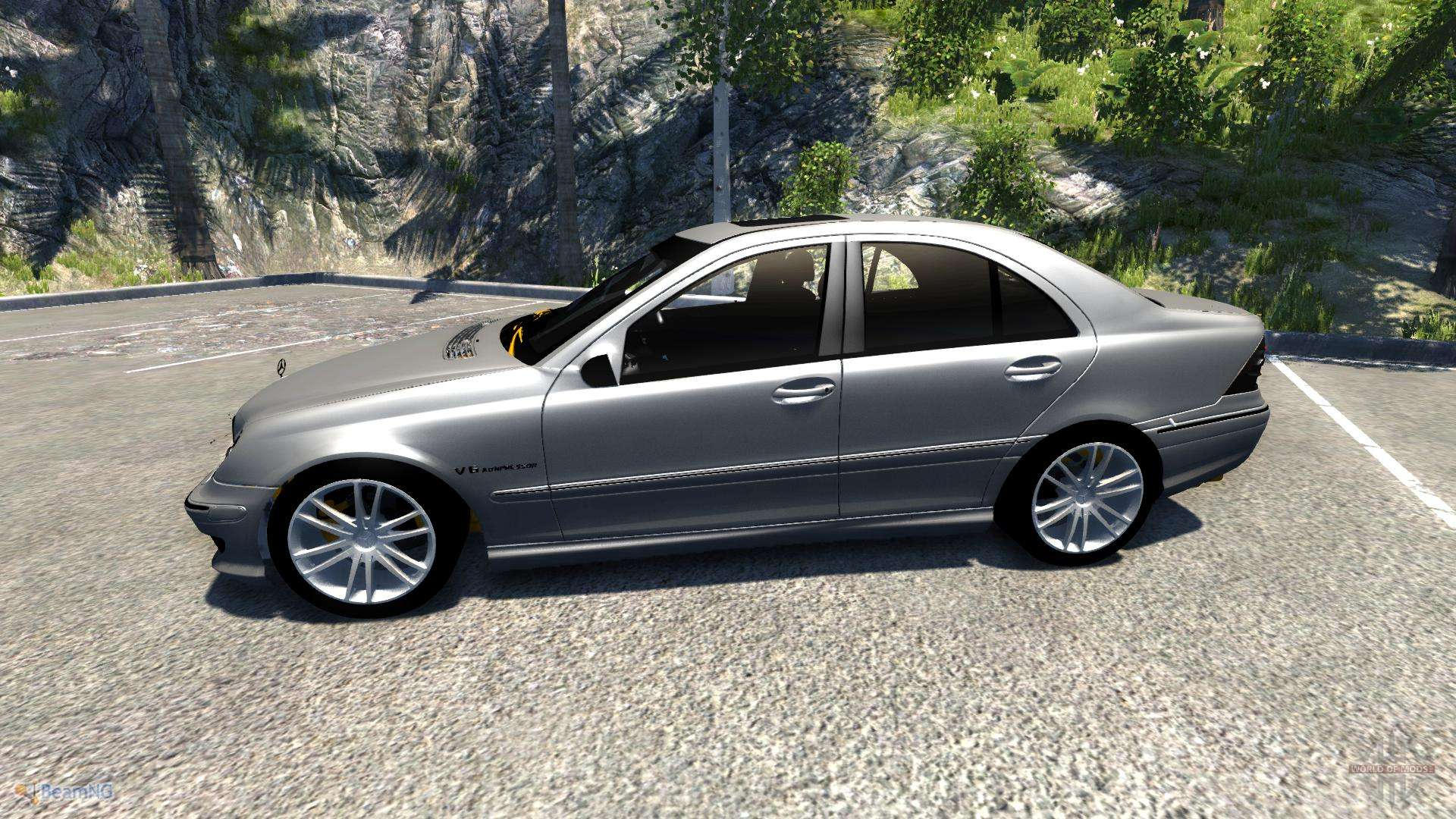 mercedes benz c32 amg for beamng drive. Black Bedroom Furniture Sets. Home Design Ideas