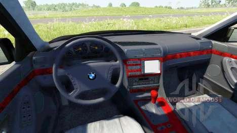 BMW 740i E38 for BeamNG Drive