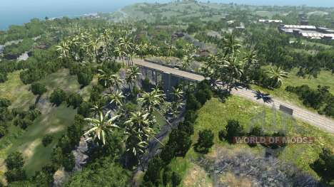 Location-Dry rock island- for BeamNG Drive