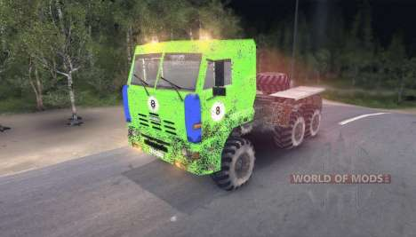 Pak trucks v8.1 for Spin Tires