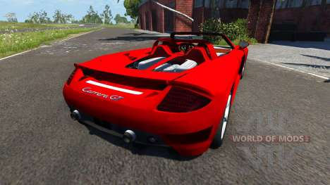 Porsche Carrera GT for BeamNG Drive