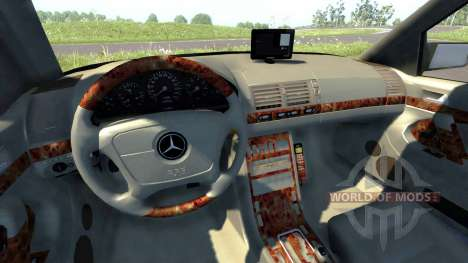 Mercedes-Benz S600 for BeamNG Drive