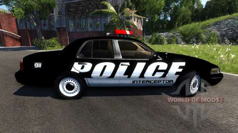 Ford Crown Victoria Police Interceptor for BeamNG Drive