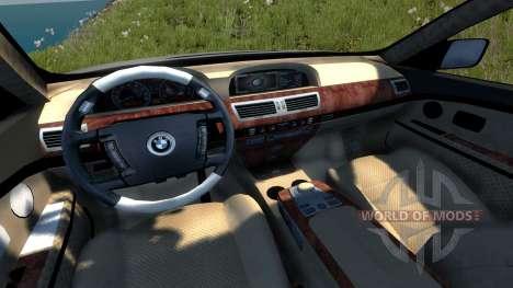BMW 760Li (E66) v1.1 for BeamNG Drive