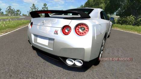 Nissan GT-R R35 Spec V for BeamNG Drive