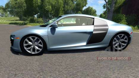 Audi R8 V10 for BeamNG Drive