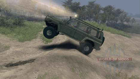 Nissan Patrol Y60 v2.0 for Spin Tires