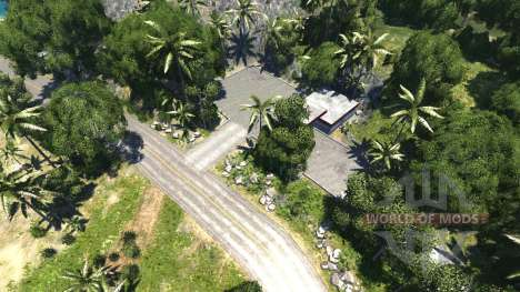 Location-Paradise island for BeamNG Drive