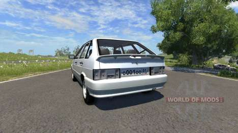 VAZ-2114 Samara-2 for BeamNG Drive