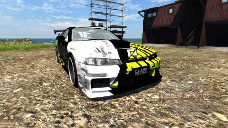Nissan Silvia S14 for BeamNG Drive