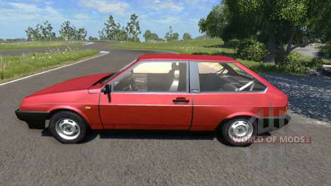 ВАЗ-21083i v1.1 LADA Samara for BeamNG Drive