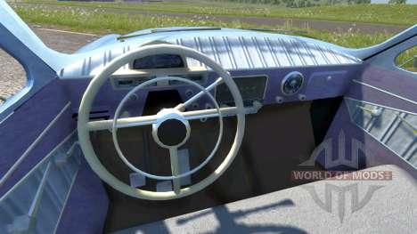 GAZ-21 Volga runoff for BeamNG Drive