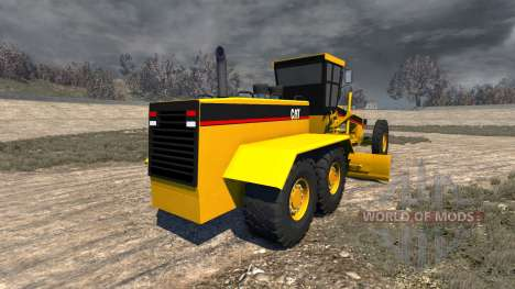 Caterpillar 24H Grader for BeamNG Drive