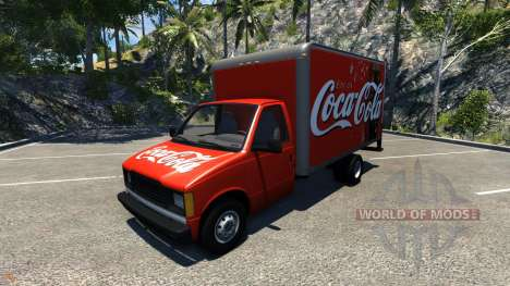 Gavril H-Series Coca-Cola for BeamNG Drive
