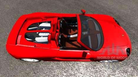 Porsche Carrera GT for BeamNG Drive