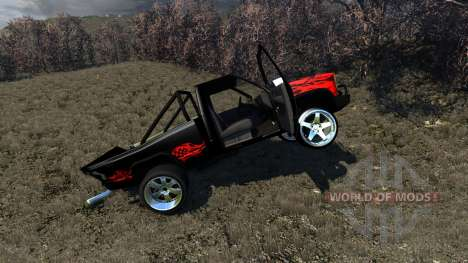 Gavril D-Series Powerful Drag for BeamNG Drive