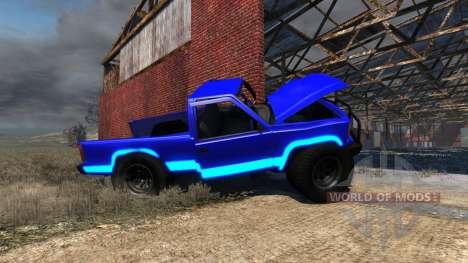 Gavril D-Series Neon Monster for BeamNG Drive