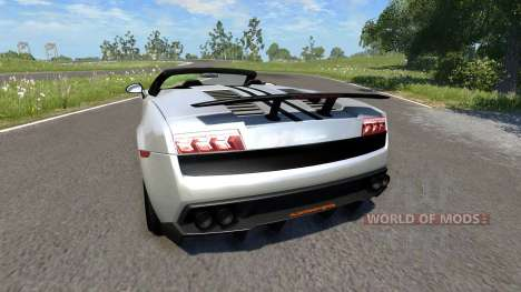 Lamborghini Gallardo LP570-4 Spyder Performante for BeamNG Drive