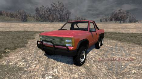 Gavril D-Series 6x6 for BeamNG Drive