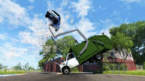 Gavril H-Series Garbage Truck for BeamNG Drive
