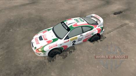 Toyota Celica GT Four ST205 Rally for Spin Tires