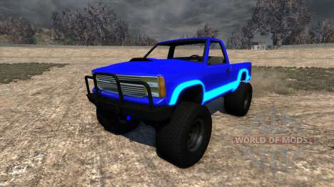 Gavril D-Series Neon Monster for BeamNG Drive