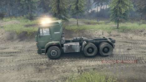 KamAZ-65116 for Spin Tires