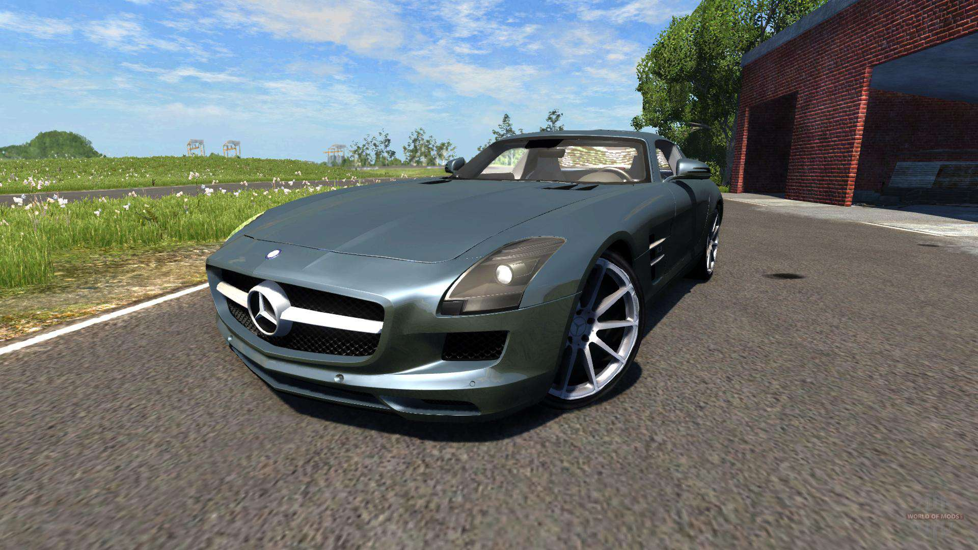 mercedes-benz for beamng drive download for free