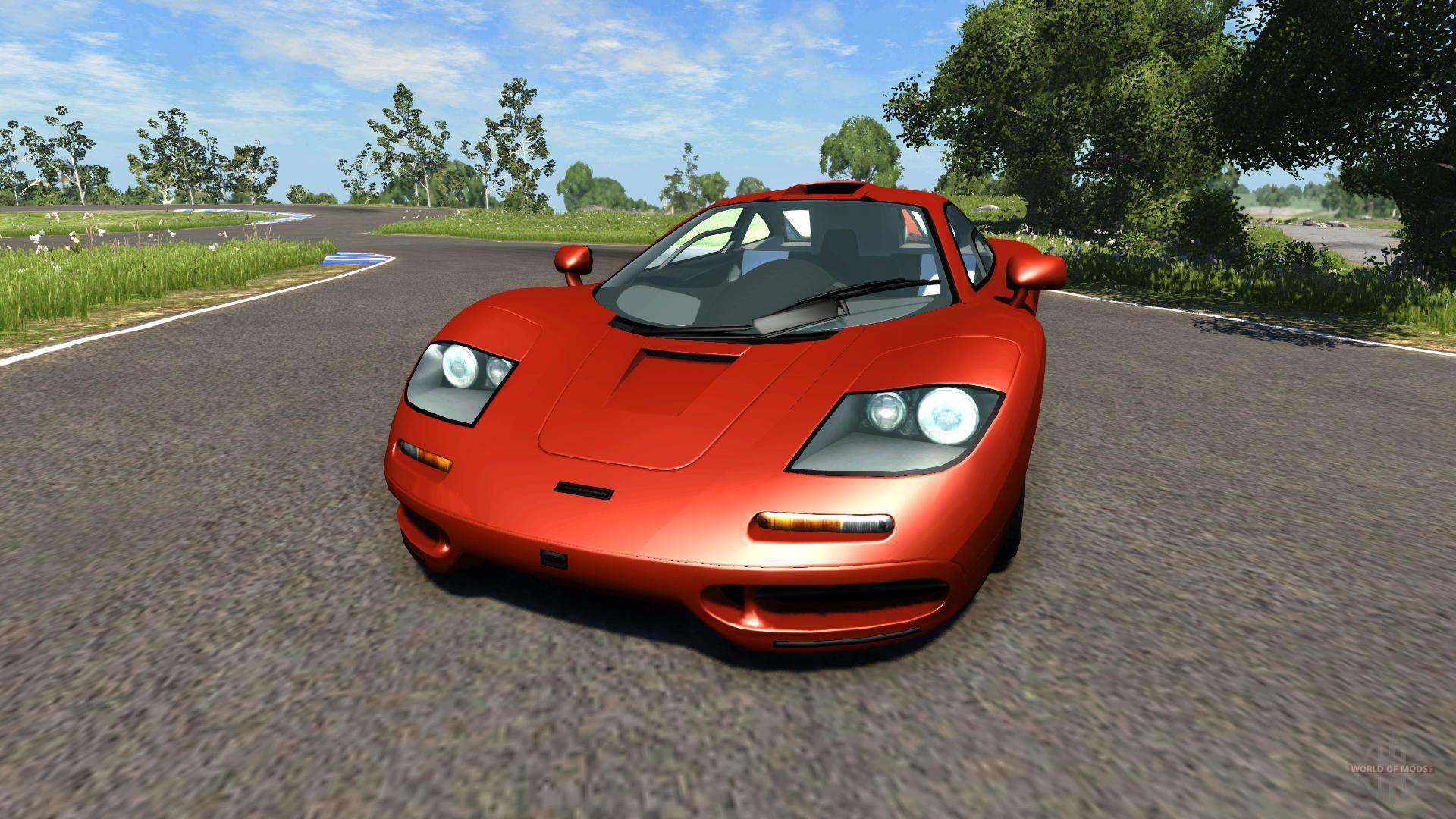 Mclaren F1 1994 For Beamng Drive