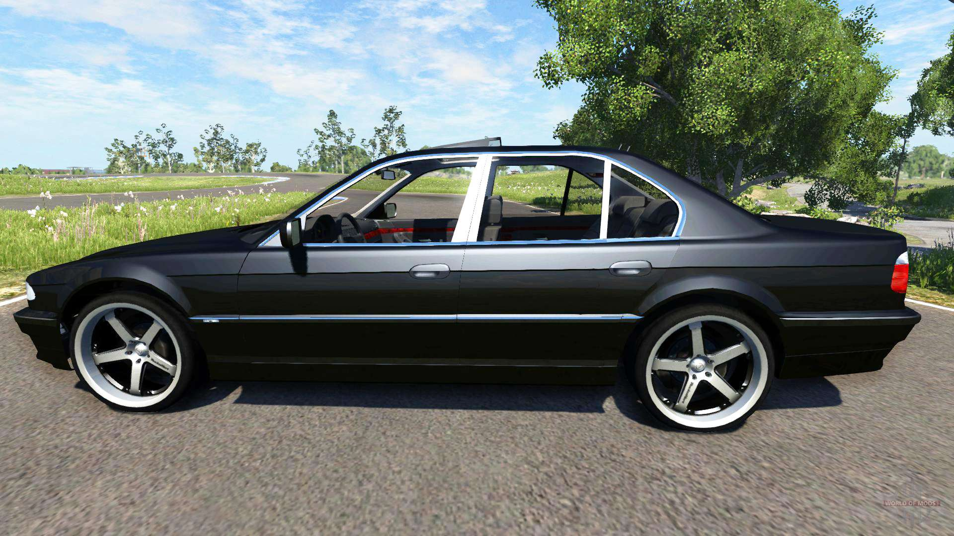 bmw 740i e38 for beamng drive