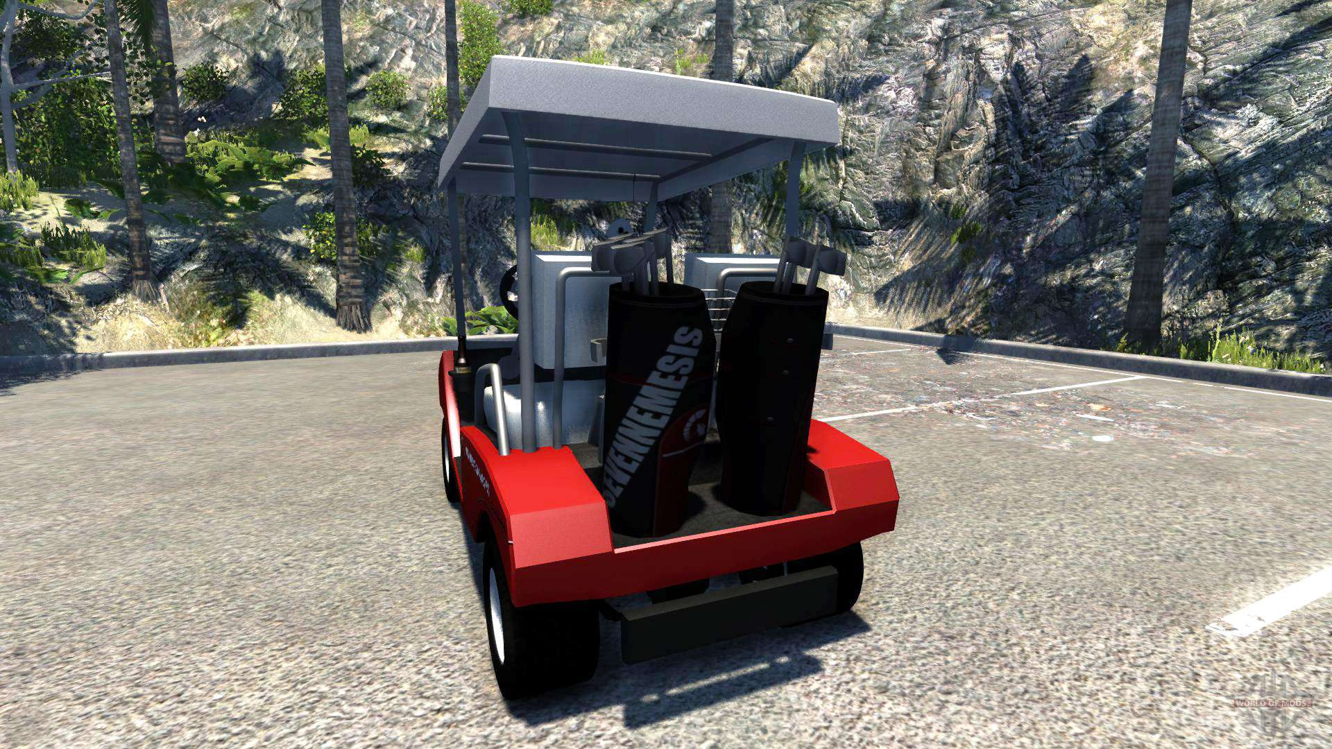 Golf cart for BeamNG Drive Koenigsegg Golf Cart Html on