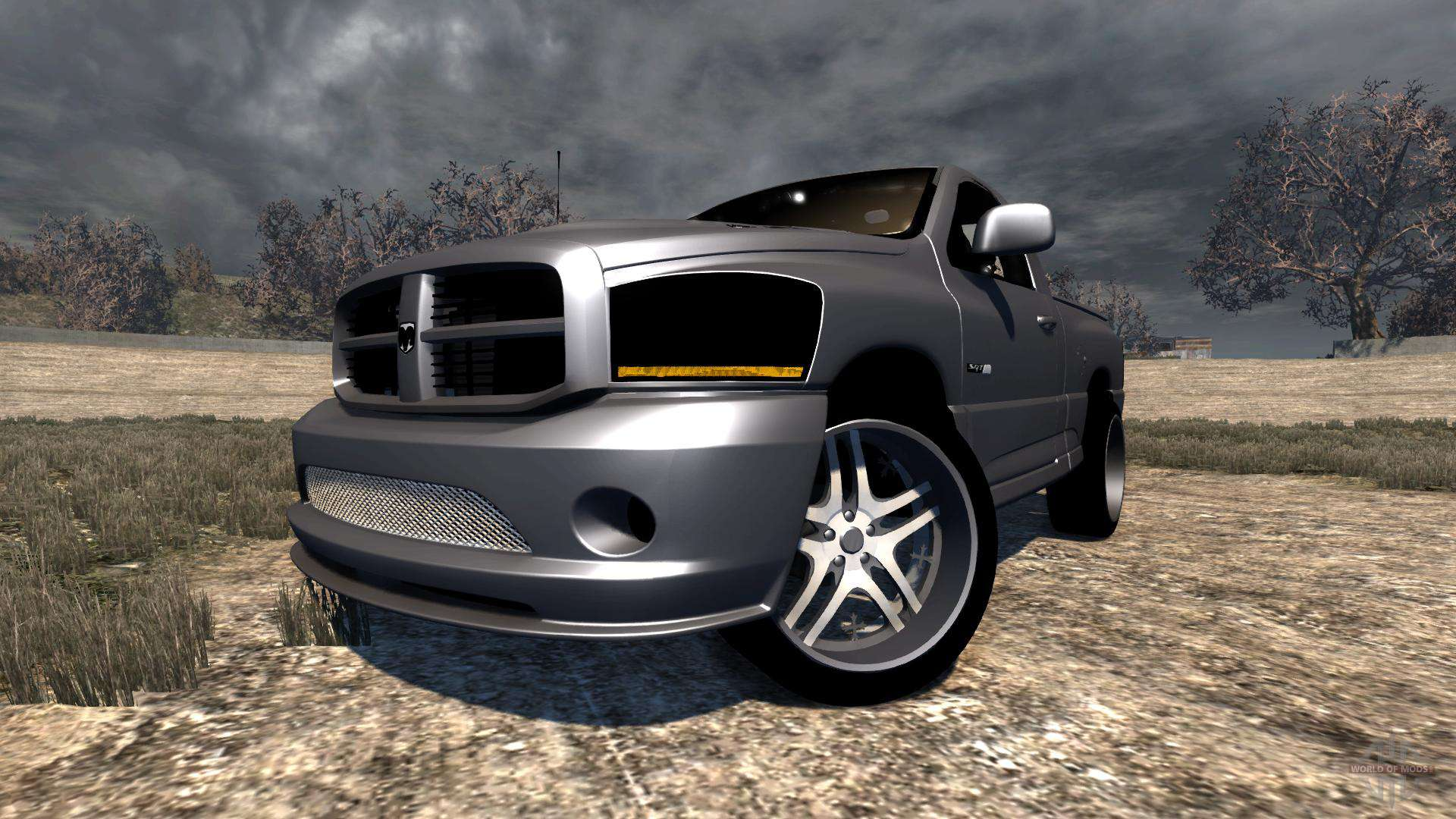 Dodge Ram Srt 10 For Beamng Drive