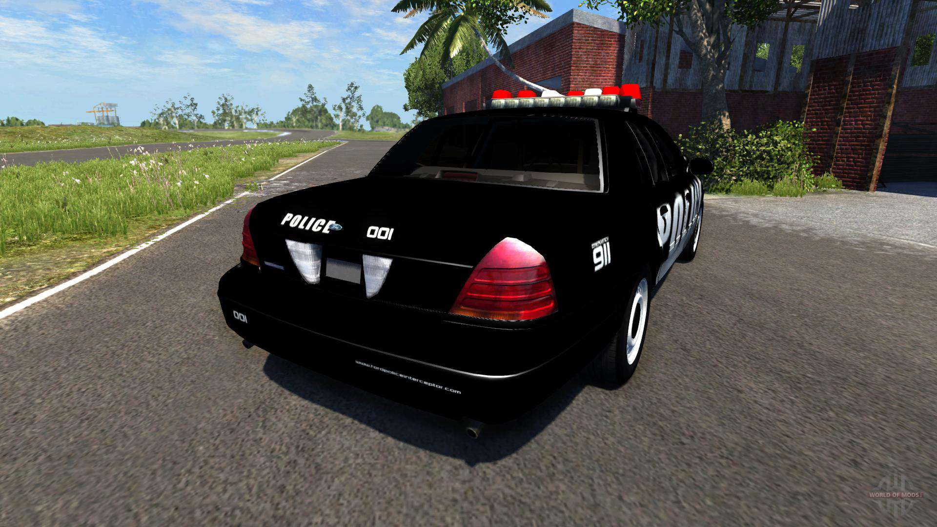 Ford Crown Victoria Police Interceptor >> Ford Crown Victoria Police Interceptor for BeamNG Drive