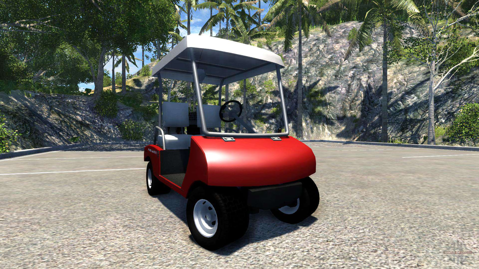 golf cart  beamng drive
