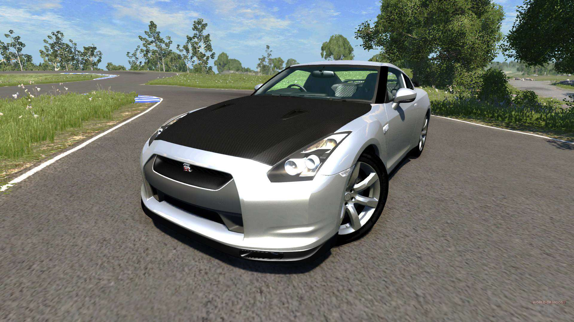 Nissan Gt R R35 Spec V For Beamng Drive Performance Specs