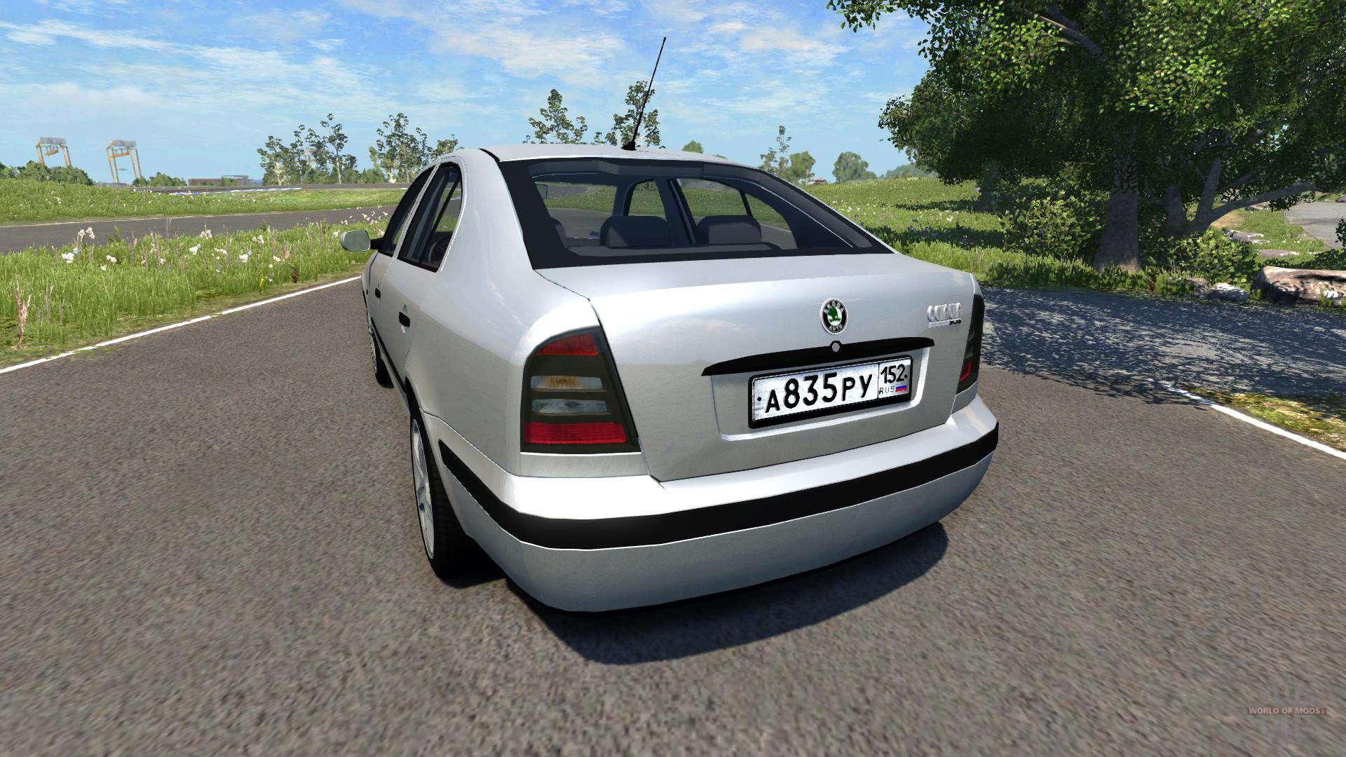 Skoda Octavia 2.0 for BeamNG Drive