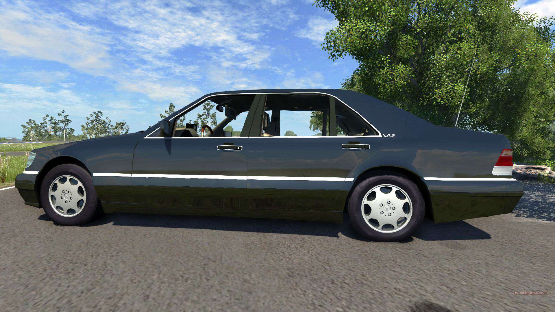 Mercedes benz s600 for beamng drive for S 600 mercedes benz