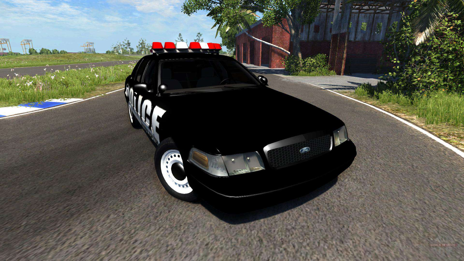 ford crown victoria police interceptor for beamng drive. Black Bedroom Furniture Sets. Home Design Ideas