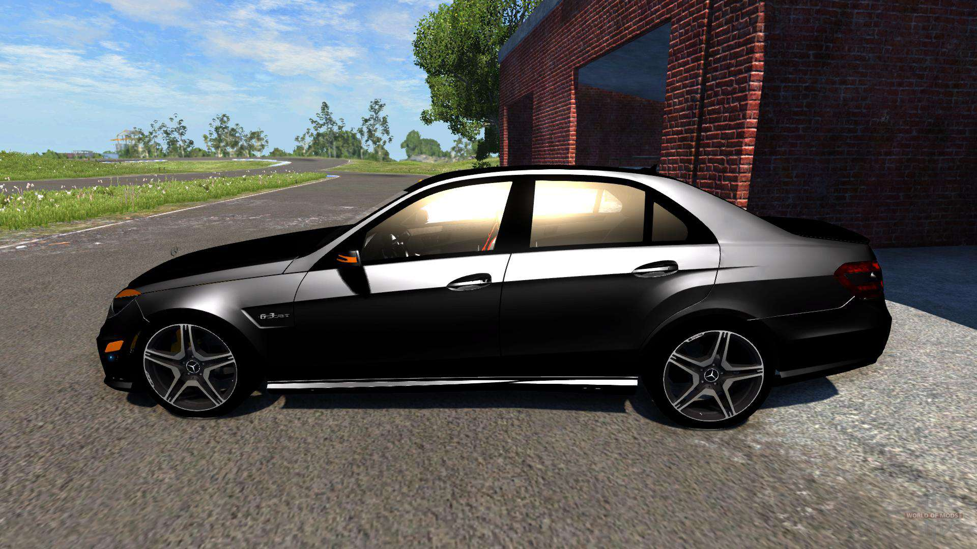 Mercedes Benz E63 Amg 2014 For Beamng Drive
