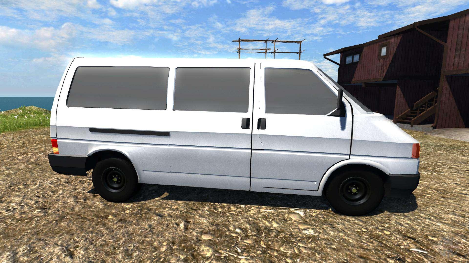 volkswagen transporter t4 for beamng drive. Black Bedroom Furniture Sets. Home Design Ideas
