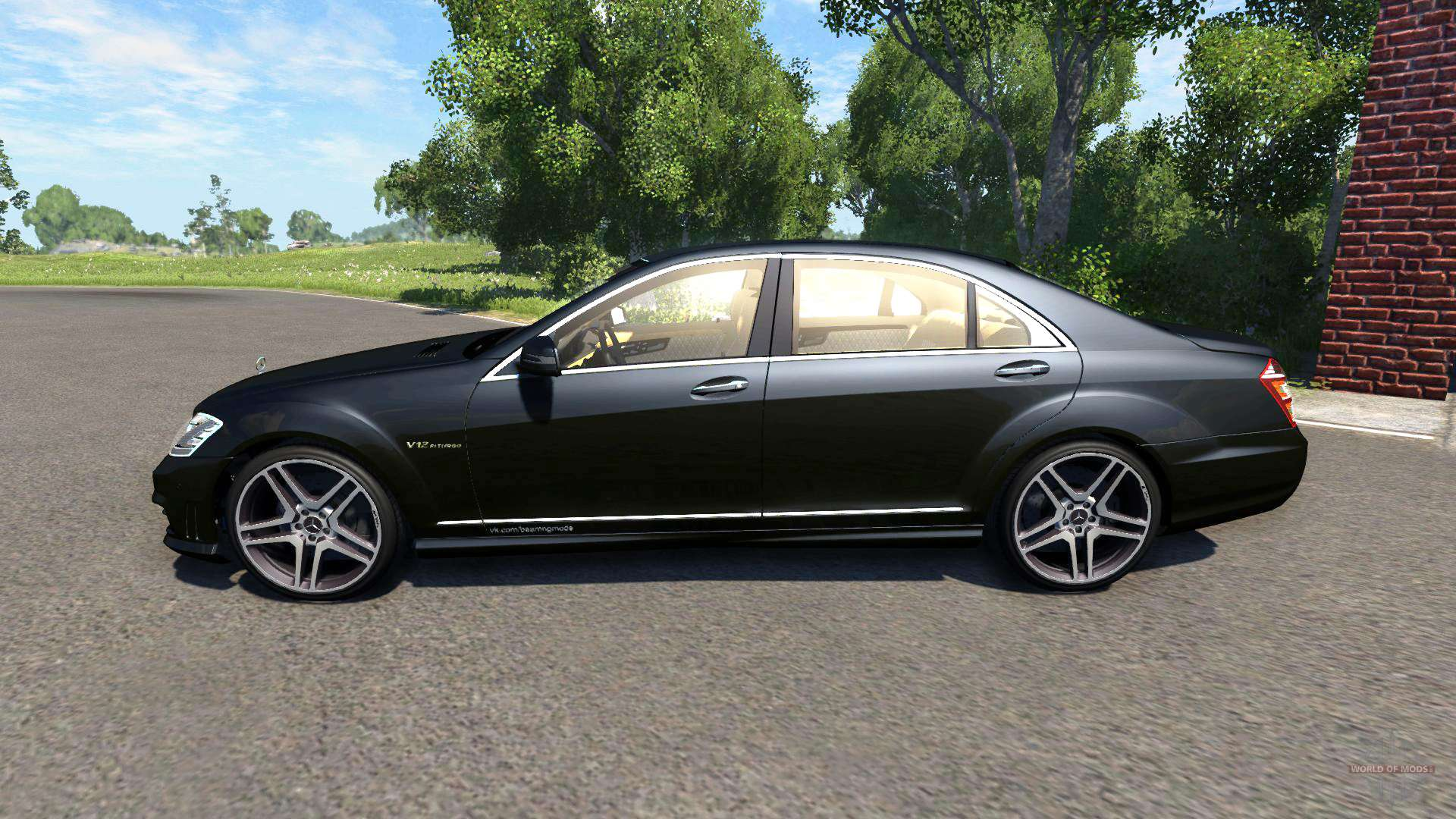 Mercedes benz s65 amg 2012 for beamng drive for Mercedes benz s 65