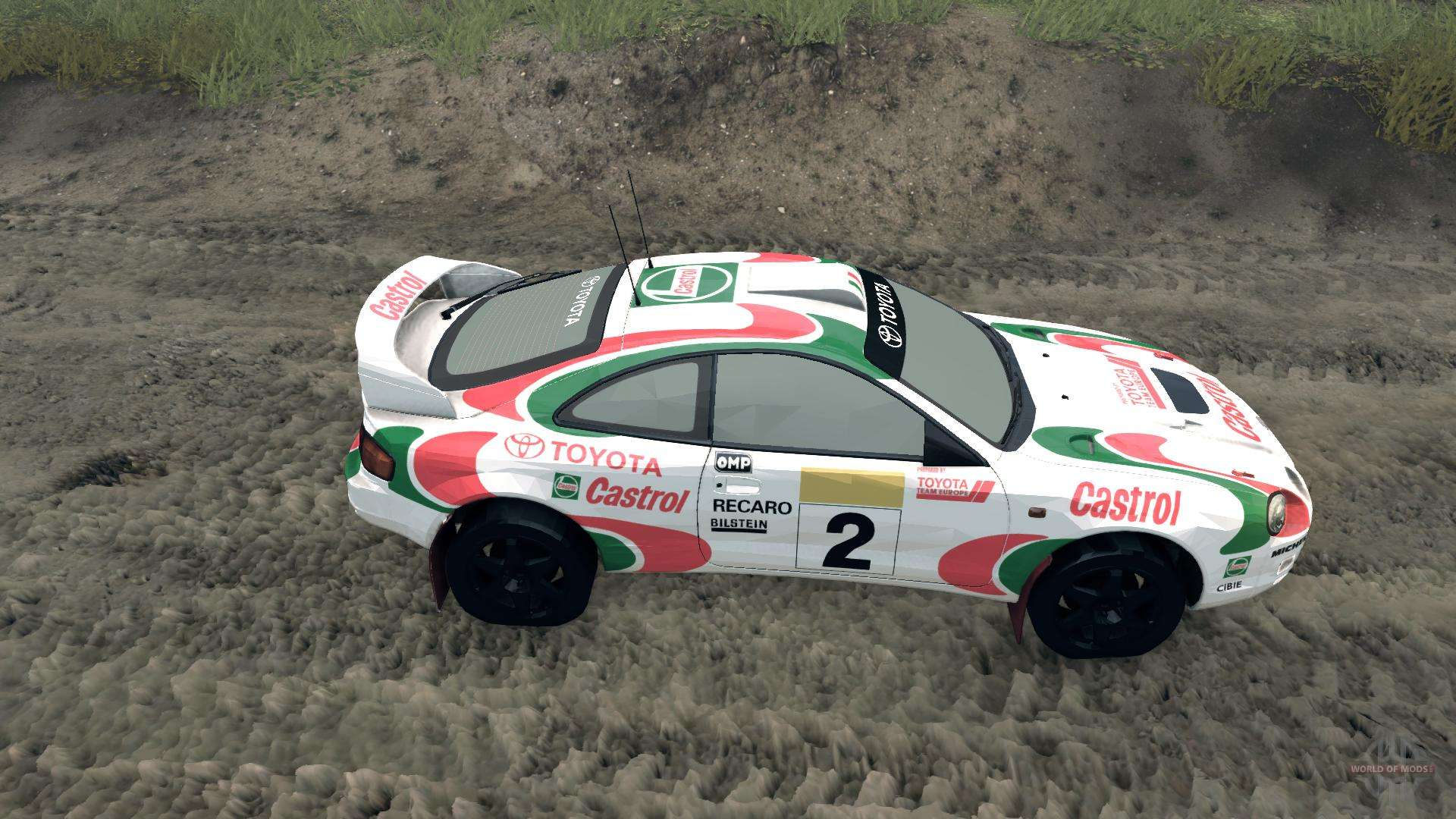 Celica GT Four ST205 Rally for Spin Tires