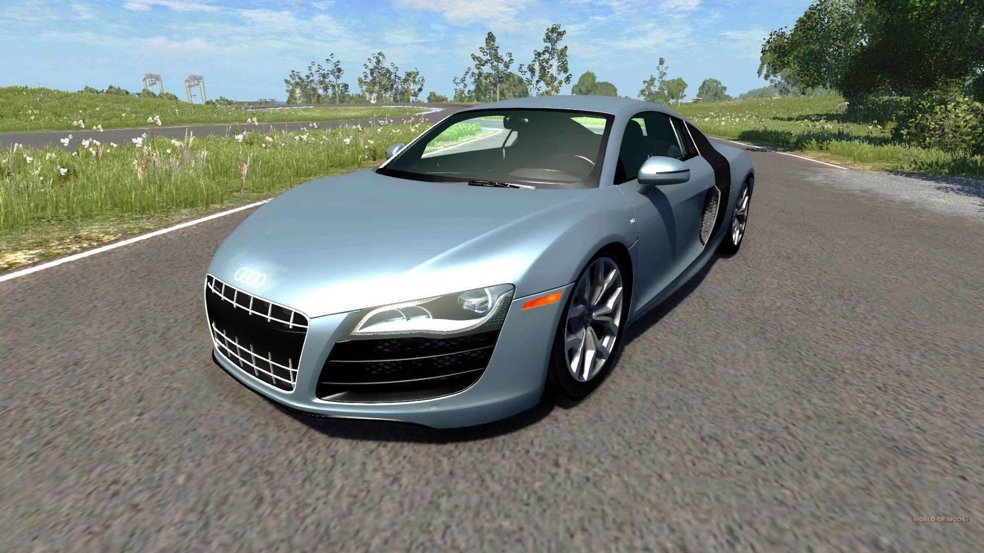 Fast Awd Cars >> Audi R8 V10 for BeamNG Drive