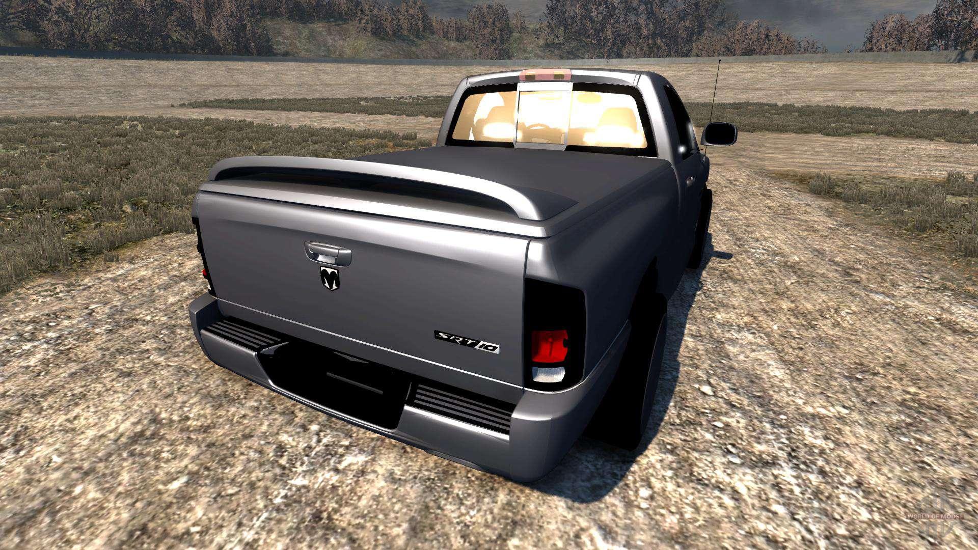 Dodge Ram Srt 10 For Beamng Drive