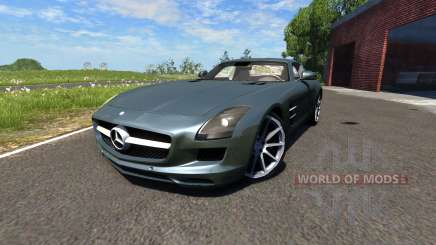 Mercedes-Benz SLS AMG for BeamNG Drive