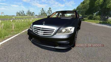 Mercedes-Benz S65 AMG 2012 for BeamNG Drive