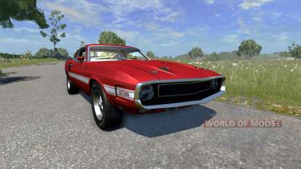 Ford Mustang Shelby GT500 428 Cobra Jet 1969 for BeamNG Drive