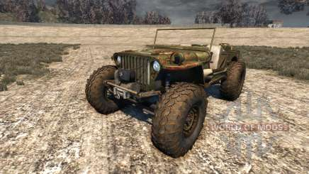 Hell Jeep for BeamNG Drive