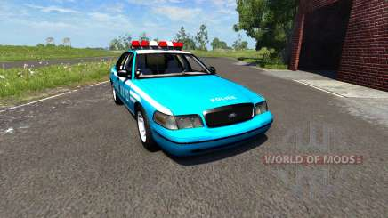 Ford Crown Victoria NYPD for BeamNG Drive