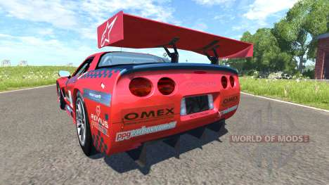 Chevrolet Corvette C5-R Alpine for BeamNG Drive